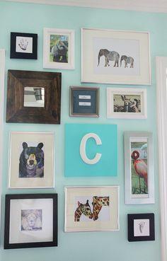 adorbs gallery-wall