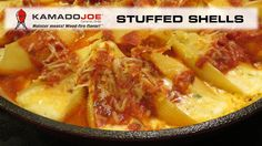 Kamado Joe Stuffed Shells