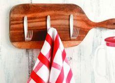 Ideias criativas: use talheres para decorar a cozinha