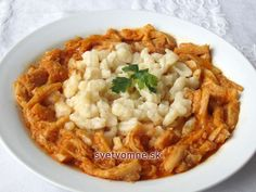 Držkový perkelt • Recept | svetvomne.sk Food 52, Risotto, Macaroni And Cheese, Chili, Ethnic Recipes, Savoury Dishes, Beef, Red Peppers, Easy Meals