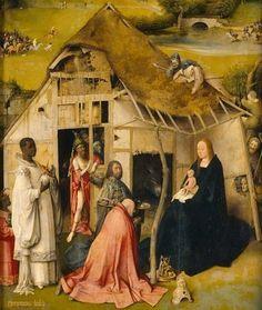 El Bosco: Adoración de los Reyes.