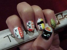 Sushi nails.