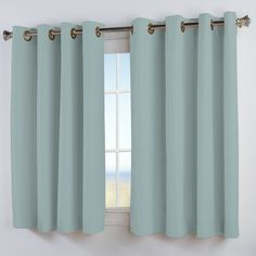 found it at wayfair elegance insulated short curtain panel - Short Curtains For Bedroom
