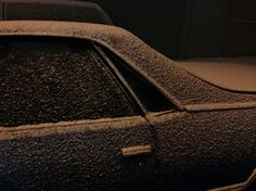 Christopher Anderson. NYCity, NY 2015 Snow on car