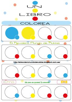cuaderno.actividades.colorear Herve, Worksheets, Activities For Kids, Preschool, Coding, Montessori, Tea, Kid Art, Short Stories