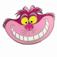 Your WDW Store - Disney Villains Pin - Cheshire Cat Smiling Face