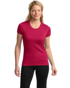 Fitted Tee Shirt | Buy sport-tek womens cap sleeves fitness tee at Gotapparel.com