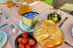Breakfast at a 700 Year-Old Catalonian Farm