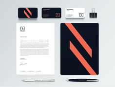 Nowea Trading Branding Stationery #branding #visualidentity #logodesign #stationery #businesscards