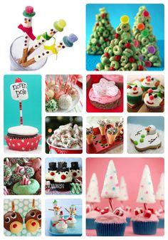 Cute & Festive #Christmas Treats #Recipes