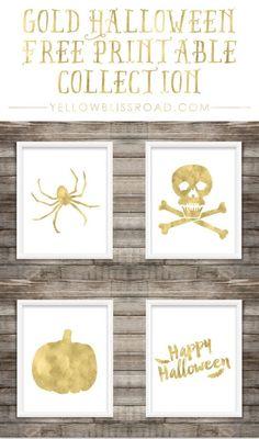 Free Printable Gold