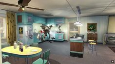 Your pre-war home. Codsworth is ready with your coffee. :)