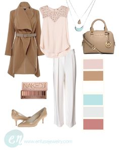 Lighten up your style with neutrals and pastels for your spring fashion