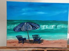 Beach Oil Painting My Arts, Arts And Crafts, Oil, Beach, Painting, Paintings, Draw, Art And Craft, Crafts