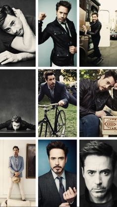 Robert Downey Jr. - best photos of  2013.