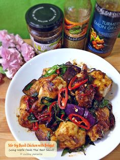Cuisine Paradise | Singapore Food Blog | Recipes, Reviews And Travel: WORLDFOODS International Fusion Recipe Swap Challenge - Thai-Style Basil Chicken