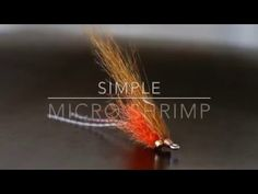 Simple Micro Shrimp Fly Tying Video - YouTube