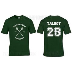 Talbot 28 brett talbot Devenford Lacrosse Wolf Men Short Sleeves... ($21) ❤ liked on Polyvore featuring men's fashion, men's clothing, men's shirts and men's t-shirts