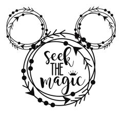 Seek the magic Mickey Mouse Window outdoor vinyl decal any color Car, Laptap Outdoor/Indoor Decal ✴️ clear decal for Windows or any surface ✴️ your choice of color shipped in USA (my water mark doesn't come on yours) Silhouette Cameo Projects, Silhouette Design, Silhouette Cameo Disney, Vinyl Crafts, Vinyl Projects, Disney Fantasy, Disney Vacations, Disney Trips, Machine Silhouette Portrait
