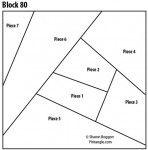 Crazy quilt block 80 free pattern
