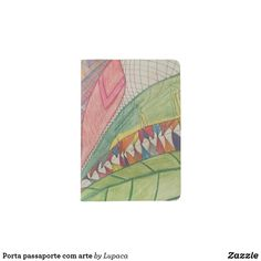 Shop Porta passaporte com arte passport holder created by Lupaca. Passport Holders, Passport Wallet, Travel Style, Cover, Passport