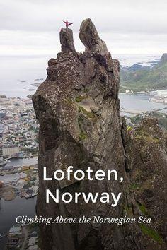 Climbing Lofoten, Norway | Epic Climbing adventure above the Norwegian Sea