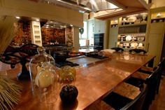 Demonstraton kitchen at the Midwest Living Culinary & Craft School at #SilverDollarCity