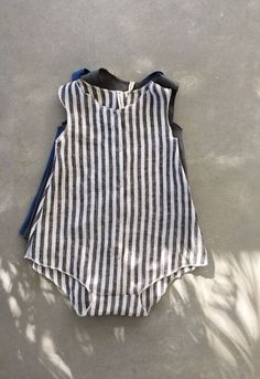 Handmade Linen Baby Toddler Rompers | SunnyAfternoon on Etsy