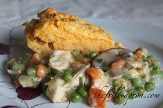 [Recipe] Chicken Pot Pie with Sweet Potato Biscuit Topper @Tara MacKenzie