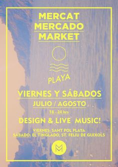 Mercado de Creativos en la Costa Brava!  Todo Agosto! os esperamos!  + info: www.mutuocentro.com/verano2012
