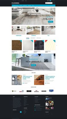 Flooring Responsive PrestaShop Theme #template #website http://www.templatemonster.com/prestashop-themes/53710.html?utm_source=pinterest&utm_medium=timeline&utm_campaign=florth