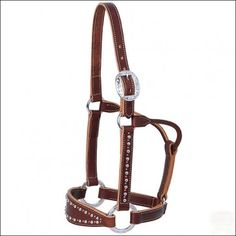 WEAVER LEATHER AVERAGE ROCK STAR BRONC HORSE HALTER - SADDLES & TACK hilason tack