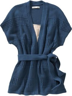 Women's Dolman-Sleeve Wrap Cardigans