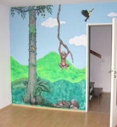 Kids room walls