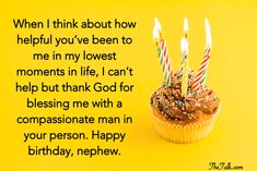 Heart-warming Birthday Wishes For Nephew Birthday Wishes For Nephew, Unique Birthday Wishes, 20th Birthday, Happy Birthday Me, Birthday Celebration, Grow In Grace, Happy 1st Birthdays, How To Grow Taller, A Blessing