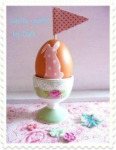 Easter egg crafts - #DIY