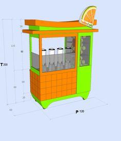 Juice Bar Design, Bike Food, Jugo Natural, Bike Cart, Food Kiosk, Juice Packaging, Coffee Truck, Food Stall, Wood Display