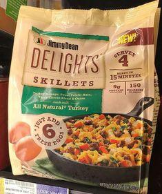 Jimmy Dean, Turkey Sausage, Frozen Meals, Skillet, Kale, Sweet Potato, Onion, Potatoes, Cheese