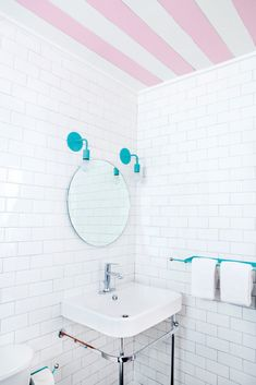 You need a lot of minimalist bathroom ideas. The minimalist bathroom design idea has many advantages. See the best collection of bathroom photos. Small Bathroom, Bathrooms Remodel, Serene Bathroom, Bathroom Decor, Bathroom Design, Minimalist Bathroom, White Bathroom, Striped Ceiling, Accent Wall Colors