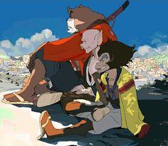 bakemono no ko, the boy and the beast