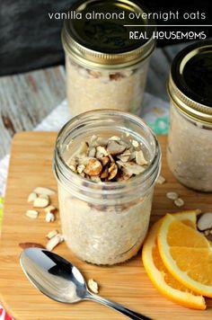 Vanilla Almond Overnight Oats