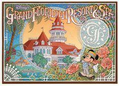 Disney's Grand Floridian Beach Resort opened at 4401 Floridian Way in Walt Disney World.