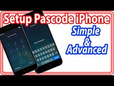 How To Setup A Passcode iPhone 6, 6 Plus & iPad - Advance Password Tip - YouTube