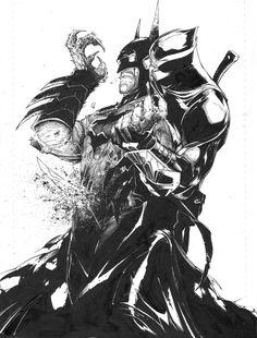 Batman Vs Owl by Greg Capullo