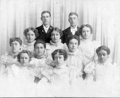 1897 Graduating Class Leadville, CO Old Photos, Vintage Photos, Leadville Colorado, Graduating Class, Twin Lakes, Denver, The Past, Photo Wall, History