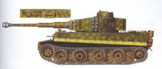 "Tiger №-8 ""Strolch"",tank company Meyer,Italy,march 194"