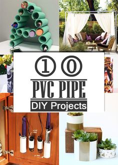 10 of my favorite DIY projects using PVC pipe