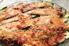 Noodle Free Lasagne-kid friendly, light, easy and sooo good!!  Add 1 lb of lean protein to sauce and count cheeses as condiments.  perfect meal!  CAT 1, 2, and Condiments