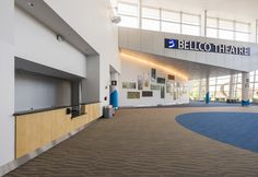 Bellco Theater Merchandise Booth. Comes with rental of the theater.