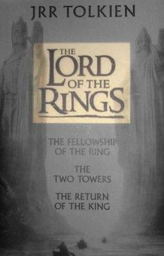 I'm a total Tolkien geek. As a little kid, I had a cat named Frodo and a dog named Goldberry.